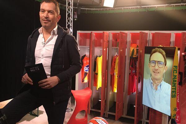 Serge Le Dizet, entraîneur adjoint d'Angers SCO, invité de l'émission #USBFOOT et d'Anthony Brulez