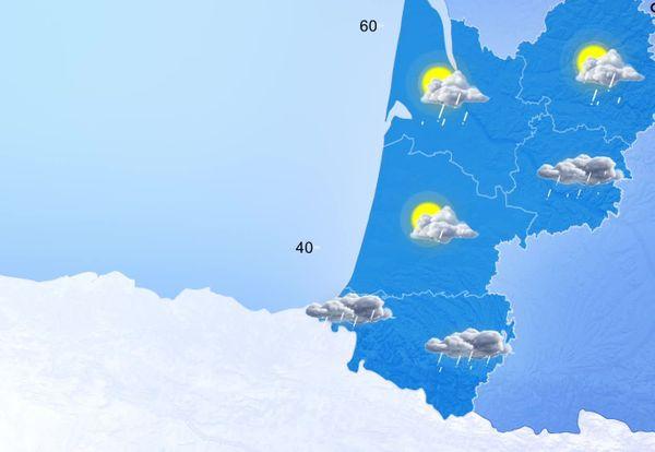 Une nouvelle perturbation pluvieuse va traverser la région et se décaler vers l'est dans l'après-midi. Le vent soufflera encore fort sur le littoral.