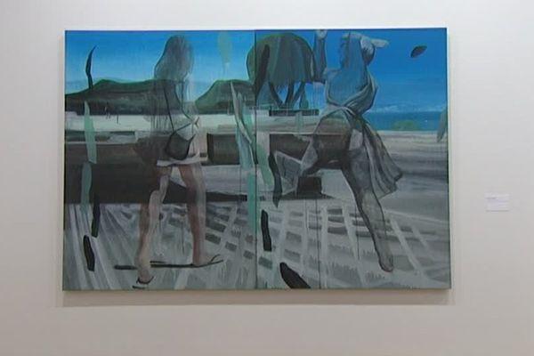 Le Musée des Beaux Arts de Caen propose une rétrospective des oeuvres de marc Desgrandchamps jusqu'au 27 aout