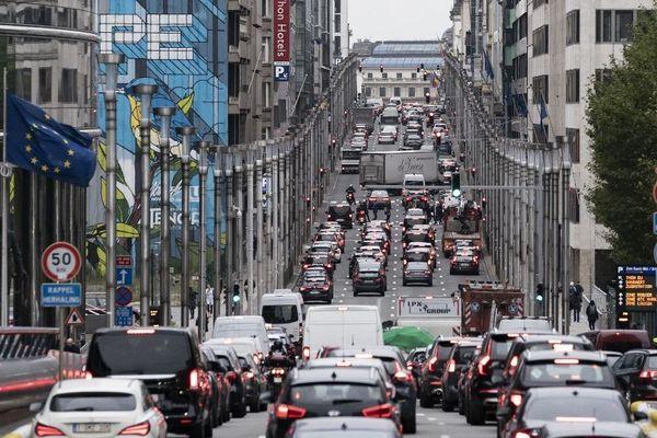 La circulation des véhicules diesel de plus en plus restreinte à Bruxelles.