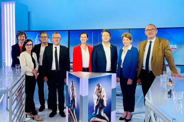 Débat de l'entre-deux-tours des élections Régionales 2021