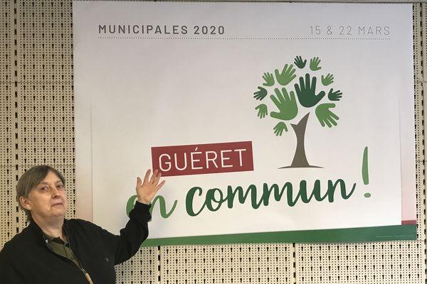 Sylvie Bourdier, 61 ans, mènera la liste de la majorité de gauche sortante à Guéret