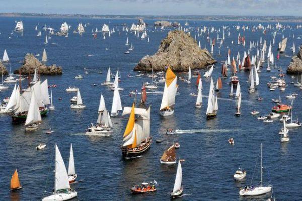 Brest 2016 : la flotille va se diriger vers Douarnenez