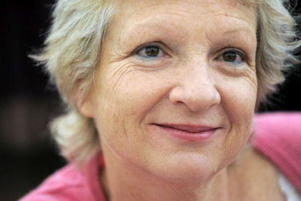 La romancière Lorraine Fouchet à Nancy en 2010
