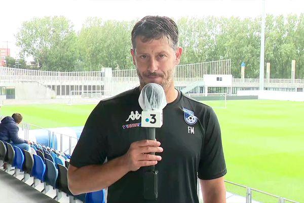 Fabien Mercadal, entraîneur de l'USLD.