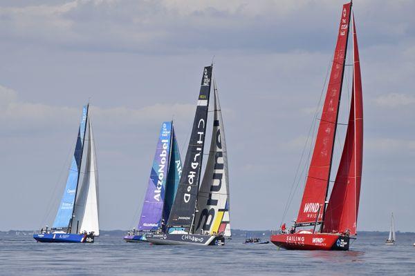 The Ocean Race Europe. Prologue, tour de l'ïle de Groix vendredi 28 Mai.