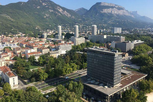 L'Hôtel de Ville de Grenoble (isère).