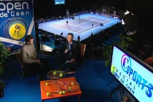 C Sports en direct de l'Open de tennis de Caen dimanche 9 décembre 2012