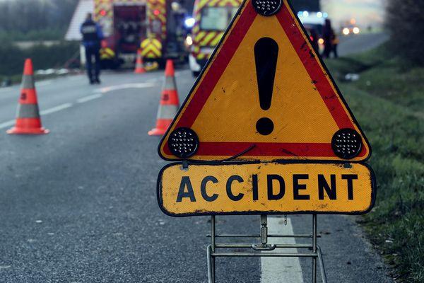 Un accident a eu lieu ce mercredi en début d'après-midi sur la route départementale 165, au niveau de la commune de La La Combe-de-Lancey - 6 octobre 2021