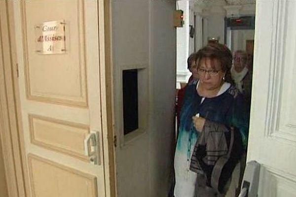 Monique Bouquignaud était très émue après l'annonce du verdict.