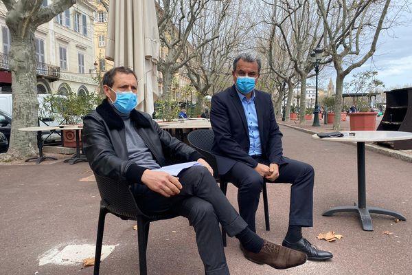 Jean-Sébastien de Casalta et François Tatti appellent à la mise en place de mesures drastiques pour la ville de Bastia.