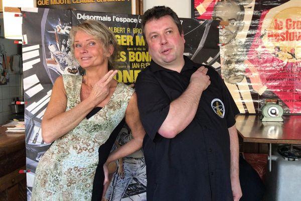 L'ancienne James Bond Girl, Irka Bochenko, anime un débat-discussion sur la place de la femme dans le restaurant d'Hervé Legrand, samedi 7 mars.