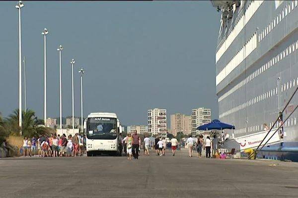 L'activité croisière devrait être développée dans les années à venir à Toulon.