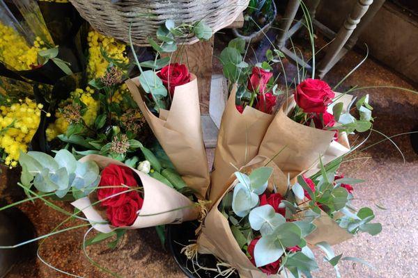 Des roses rouges pour faire plaisir à l'élu de votre coeur.