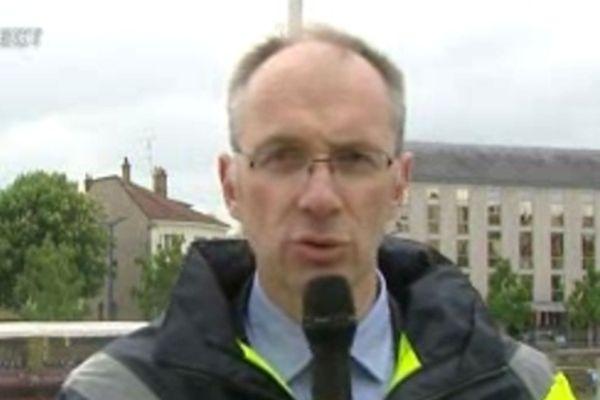 Bertrand Gossot, directeur du centre Lorraine Véolia