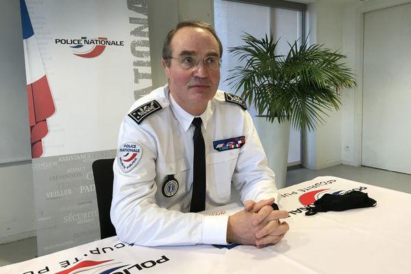 Nicolas Jolibois nouveau Directeur Départemental de la Sécurité Publique en Loire-Atlantique.