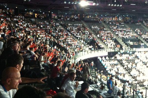 Près de 8000 spectateurs sont venus soutenir le MAHB