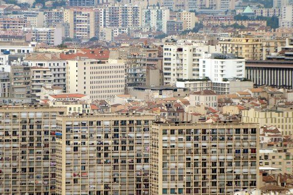 Illustration: A Marseille, l'inaction de la mairie est pointée du doigt.