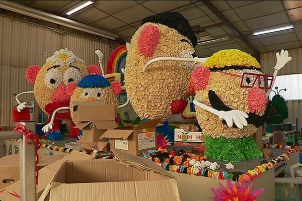 La famille de Monsieur Patate sera au rendez-vous de l'édition 2019 du carnaval de Malemort.
