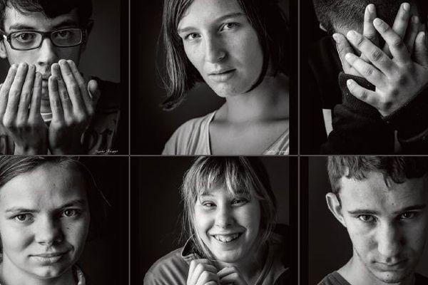 """Sophie Bourgeix a été récompensé pour sa série de 20 portraits """"L'autre regard"""""""