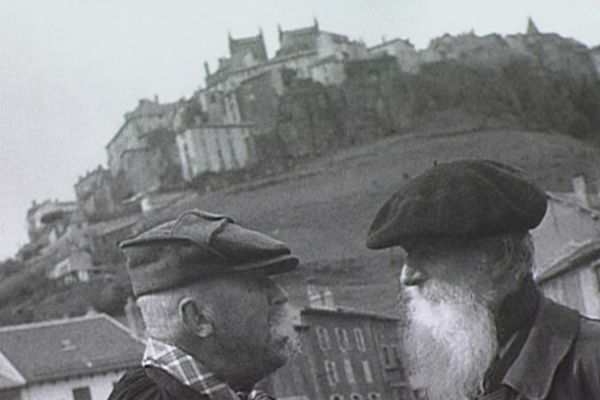 Saint-Flour, la foire vers 1950