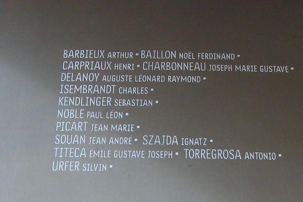 14 Poilus, oubliés en 2014, ont été ajoutés à l'Anneau de la Mémoire le 11 novembre dernier