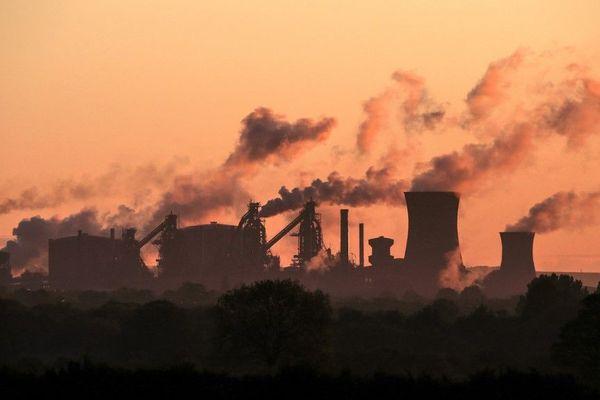 L'aciérie British Steel de Scunthorpe, dans le nord-est de l'Angleterre.