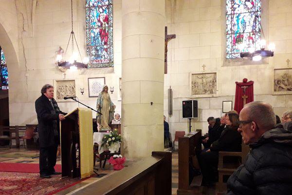 Jacky Kulik a pris la parole lors de la cérémonie hommage à sa fille, qui a trouvé la mort il y a tout juste 17 ans.