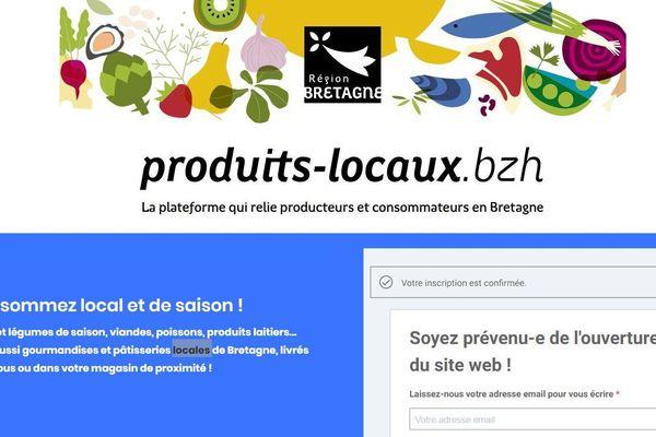 Face au coronavirus, le Conseil régional de Bretagne a décidé d'ouvrir une plate-forme pour relier producteurs et consommateurs bretons.