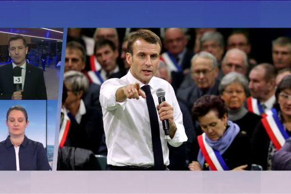 """Nicolas Daragon a dit sur France 3 son refus d' """"endosser"""" un débat national qui n' a pas reçu de réponses du chef de l'Etat depuis deux mois"""