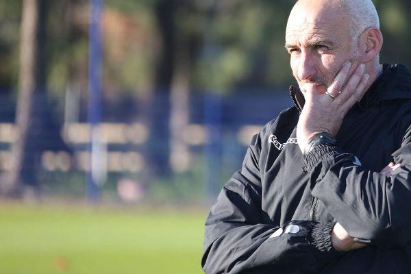 ILLUSTRATION/ François Ciccolini, nouvel entraîneur du GFCA, connait une entame de saison compliquée