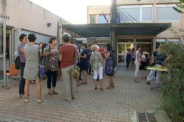 Saint-Mathieu-de-Tréviers (Hérault) - la rentrée des profs - 31 août 2016.