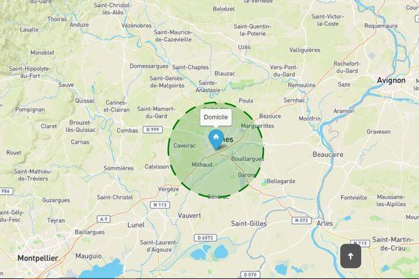 Les outils numériques sont nombreux pour visualiser et vérifier le périmètre des 10km. La nouvelle contrainte depuis le 1er avril dans le ...