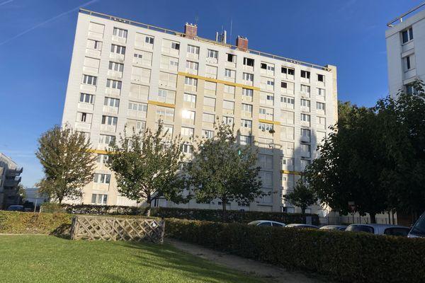 L'incendie mortel a eu lieu dans cet immeuble du quartier du Point du jour à Troyes.