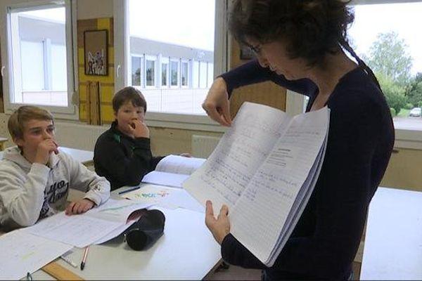 L'accompagnement personnalisé obligatoire, un des axes de la réforme du collège, est expérimentée à Genlis.