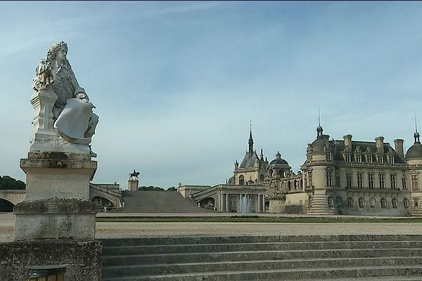 Le château de Chantilly dans l'Oise est l'une des visites les plus prisées des touristes chinois.