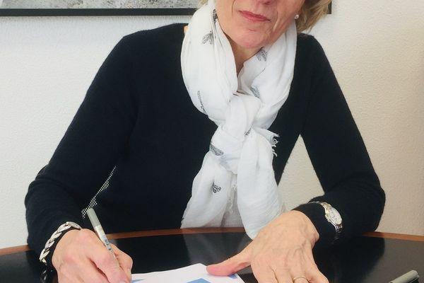 Illustration. Le maire de Digne-les-Bains, Patricia Granet Brunello.