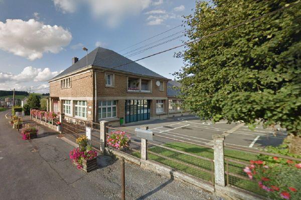 L'école intercomunale de Rouvroy-sur-Audry.