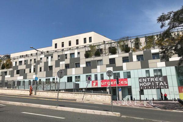 La façade de l'hôpital Pasteur 2 à Nice.