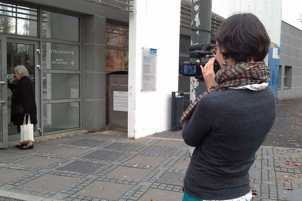 Une équipe de Vlipp en tournage à Nantes Nord