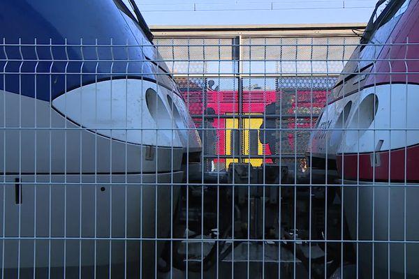 Gare de Lunel (Hérault), le 17 septembre 2021.