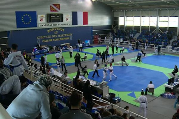 21ème Open international de taekwondo à Strasbourg