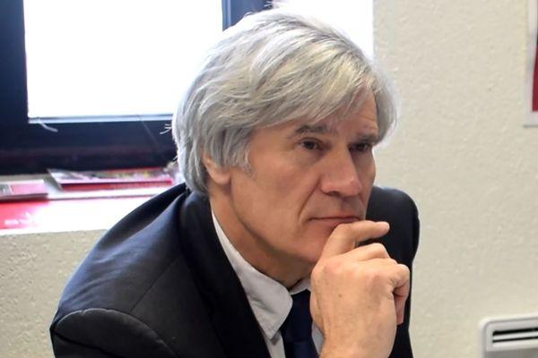 Stéphane le Foll, maire du Mans, en mars 2020