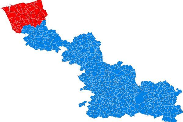 57 communes, réparties entre la Communauté urbaine de Dunkerque et la communauté de communes des Hauts de Flandre, sont concernées par la mise en place d'un confinement dès ce week-end.
