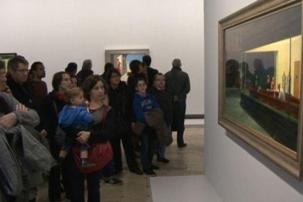 La rétrospective consacrée à l'oeuvre d'Edward Hopper a rencontré un large public