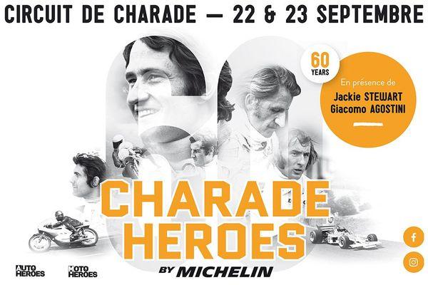 Les 22 et 23 septembre, le Circuit de Charade fête ses 60 ans d'existence.