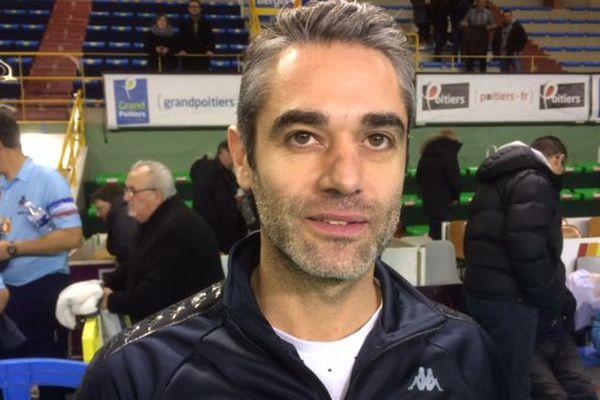 Brice Donat, entraîneur du SPVB