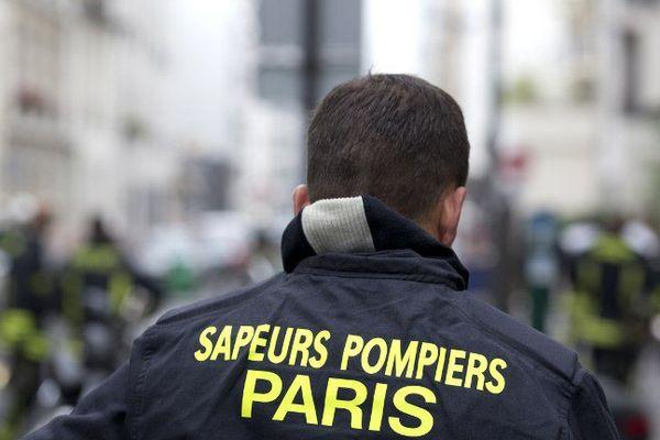 Le pompier de Paris était en repos à Honfleur.