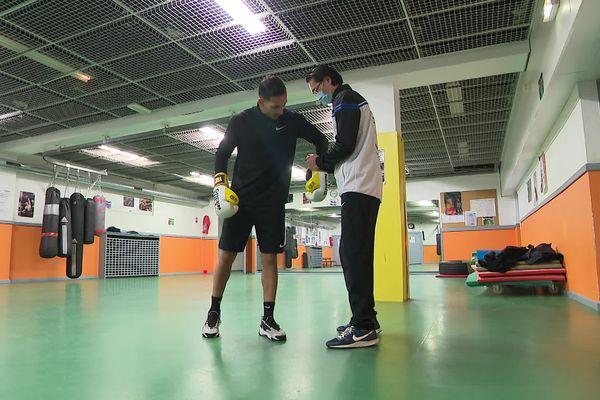 Wahid Hambli ne compte pas ses heures d'entraînement pour espérer participer aux Jeux Olympiques de Tokyo