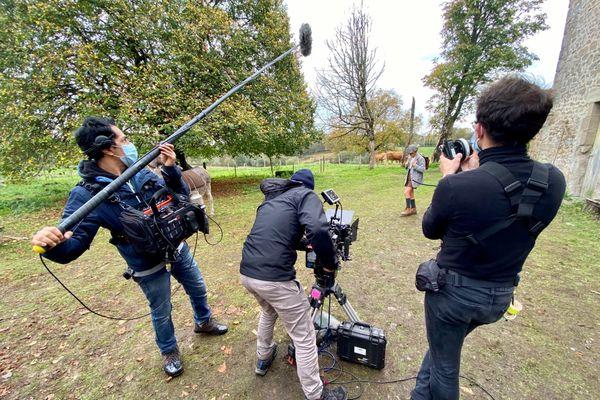 Le court métrage du réalisateur limougeaud Pierre Migozzi se tourne en partie dans une ferme de Thouron en Haute-Vienne